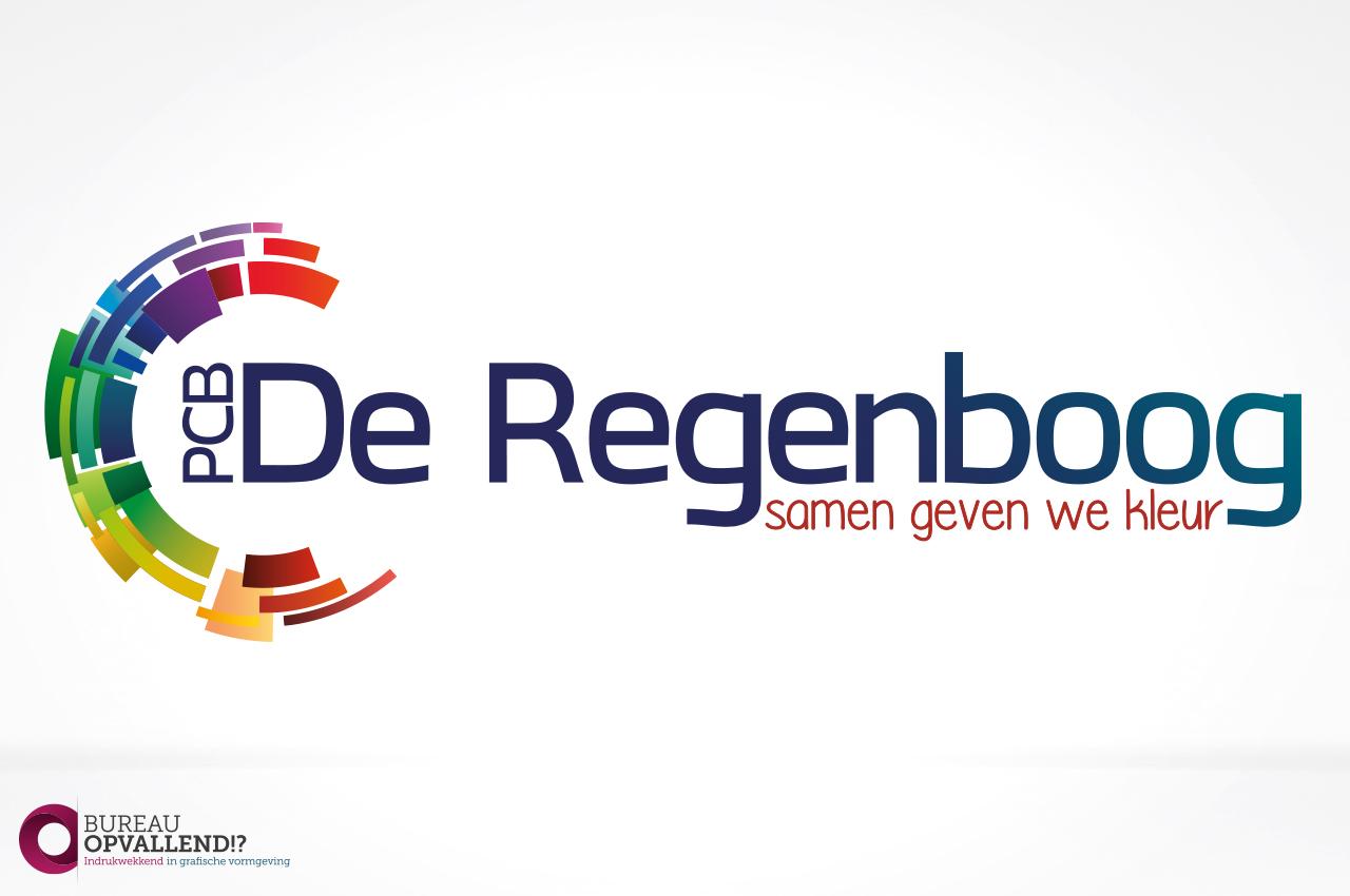Logo ontwerp De Regenboog