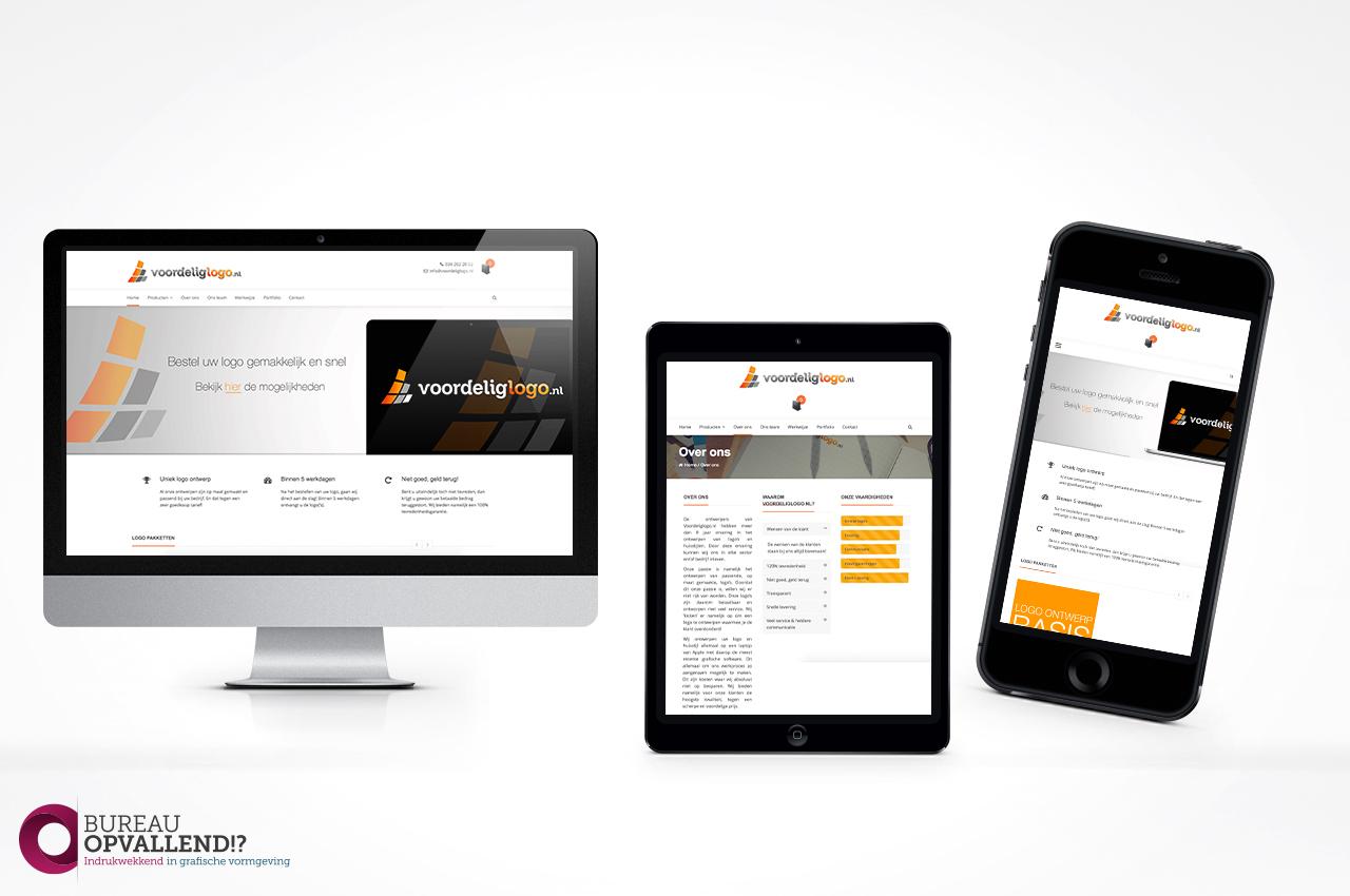 website ontwerp Voordeliglogo.nl