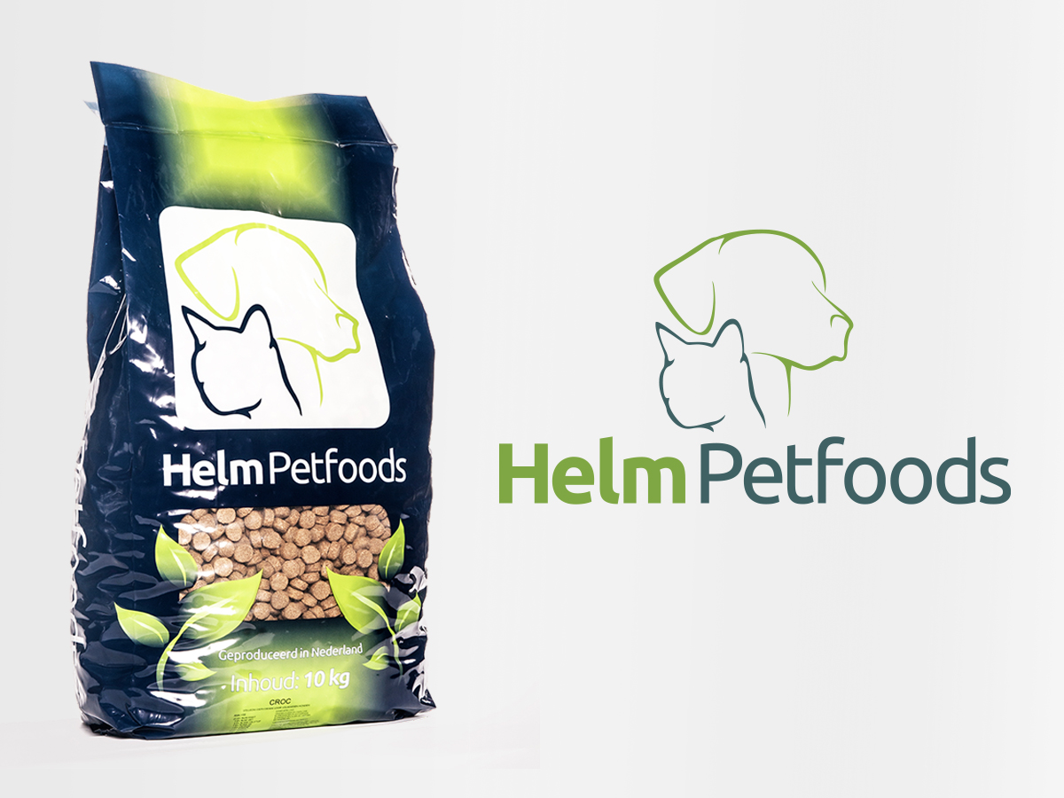 Logo en huisstijl ontwerp  – HelmPetfoods