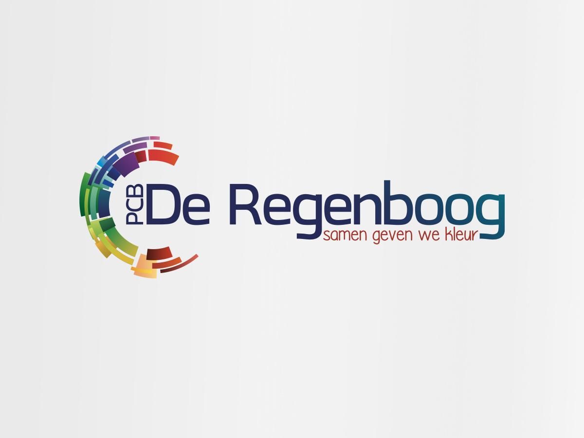 Logo ontwerp basisschool de Regenboog