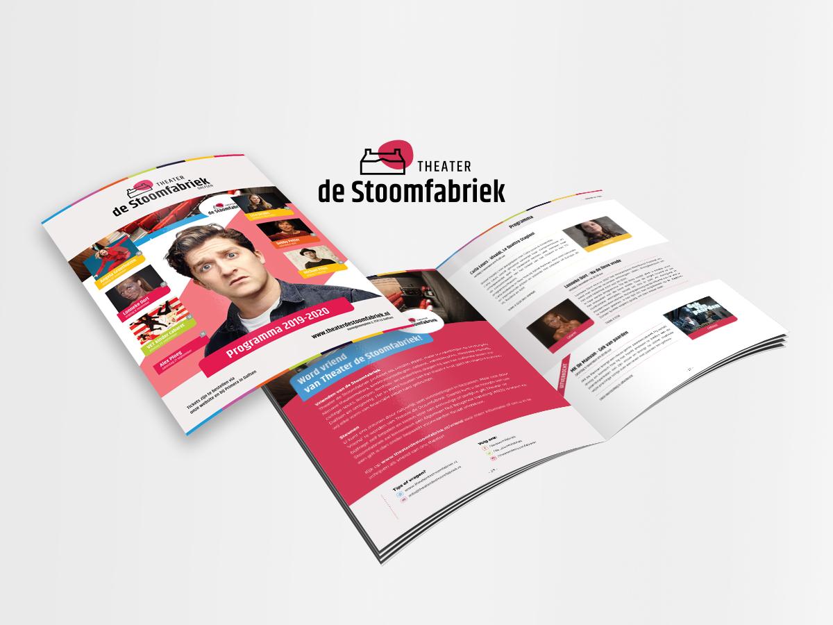 Magazine ontwerp Stoomfabriek Dalfsen