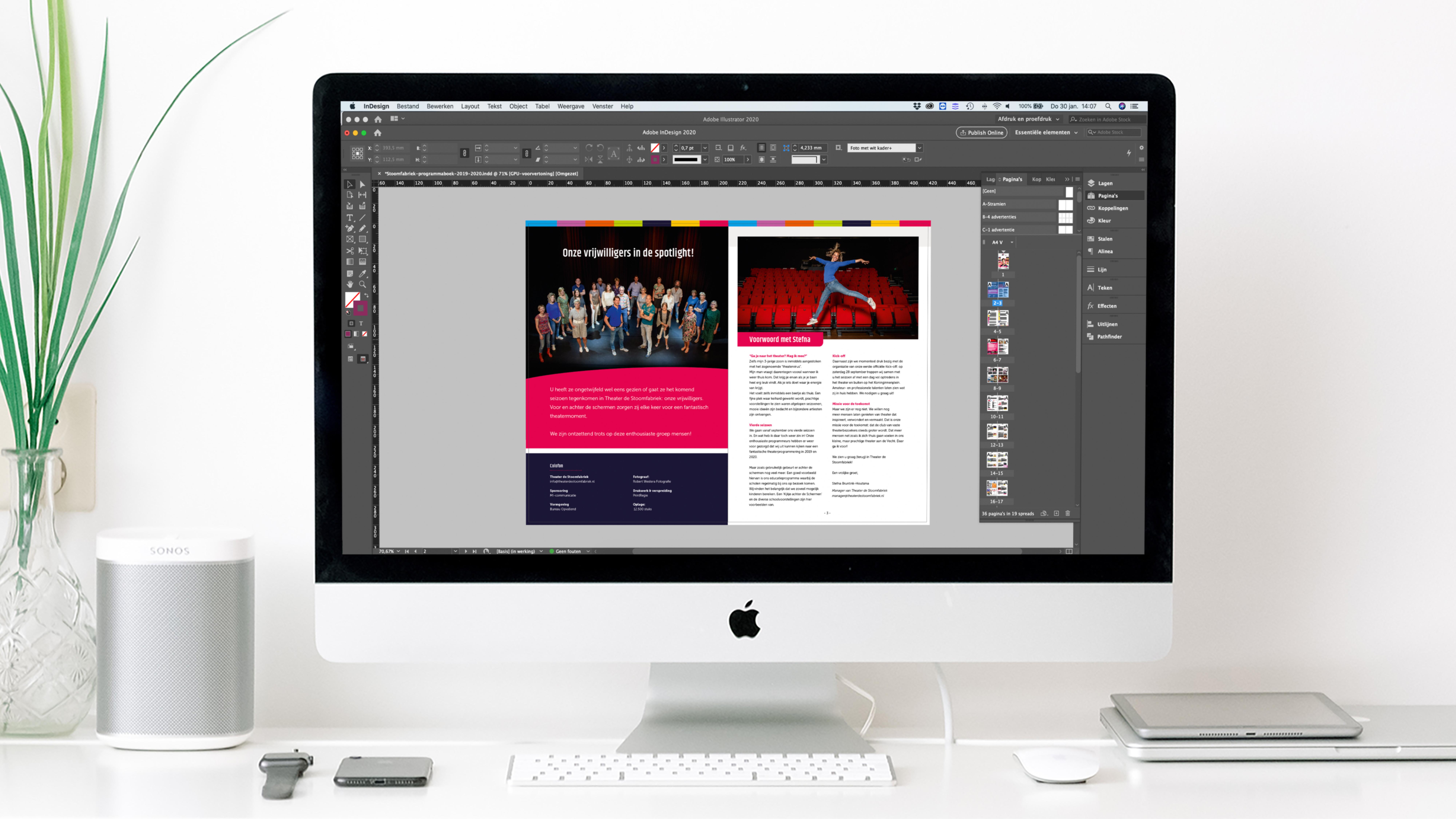 Uw ontwerpbureau voor drukwerk & online media